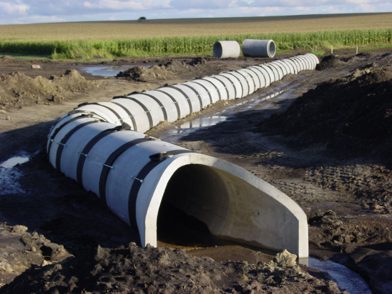 North dakota reinforced concrete pipe hancock