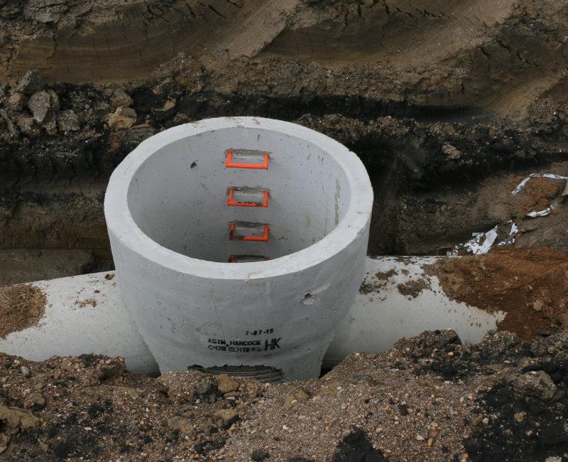 Concrete Storm Sewer : Minnesota storm catch basin manholes hancock concrete